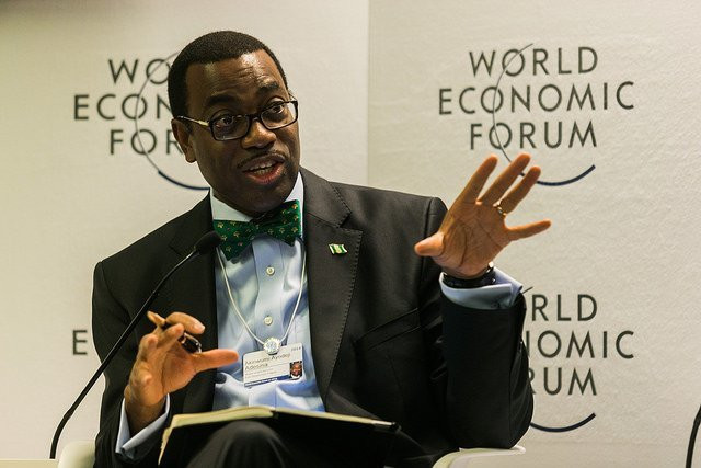 President of the African Development Bank (AfDB) Dr. Akinwumi Adesina