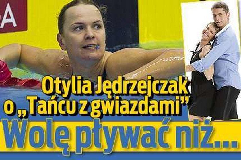 """Otylia o """"Tańcu z gwiazdami"""": Wolę pływać niż być..."""