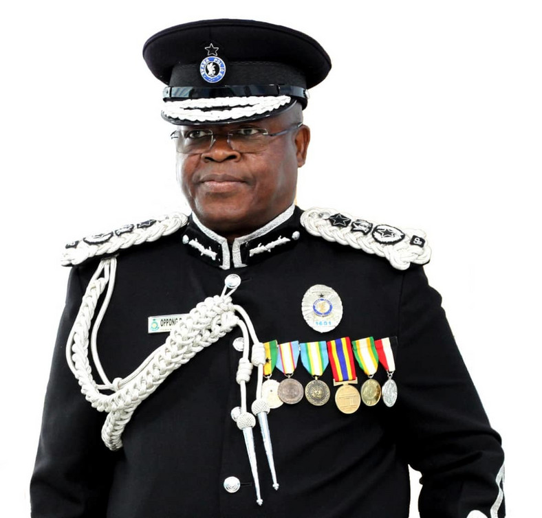 Acting Inspector-General of Police (IGP), James Oppong-Boanuh