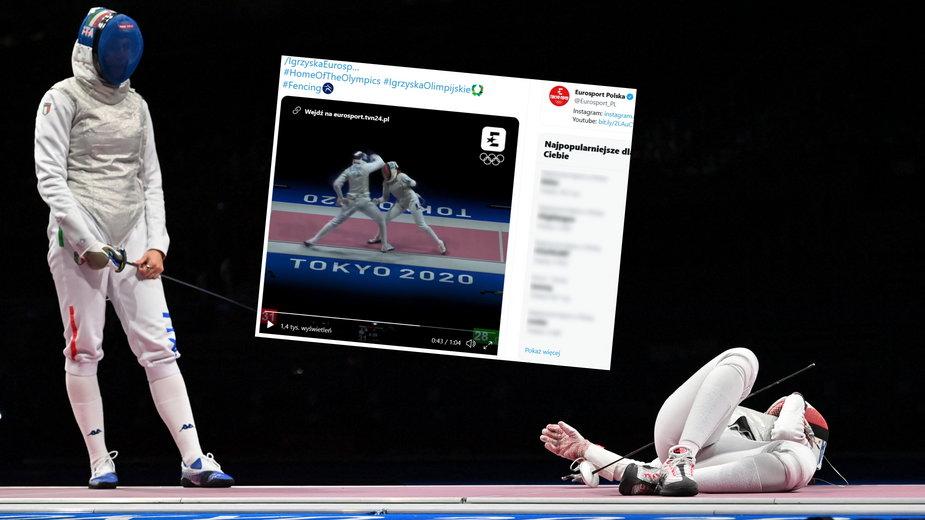 Martina Batini (z lewej) znokautowała Francuzkę Anitę Blaze (z prawej)