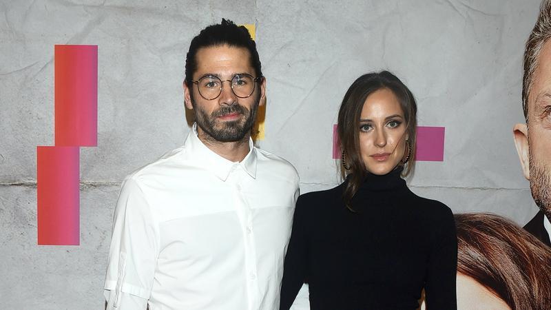 """Radzimir Dębski i Klaudia Wróbel na premierze filmu """"Atak paniki"""""""