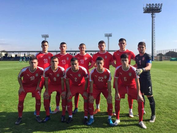 Mlađa omladinska fudbalska reprezentacija Srbije