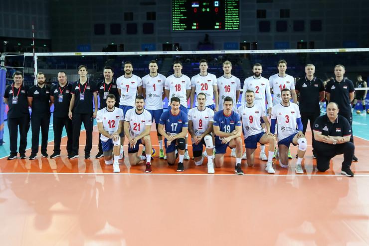 Odbojkaška reprezentacija Srbije u Đangmenu