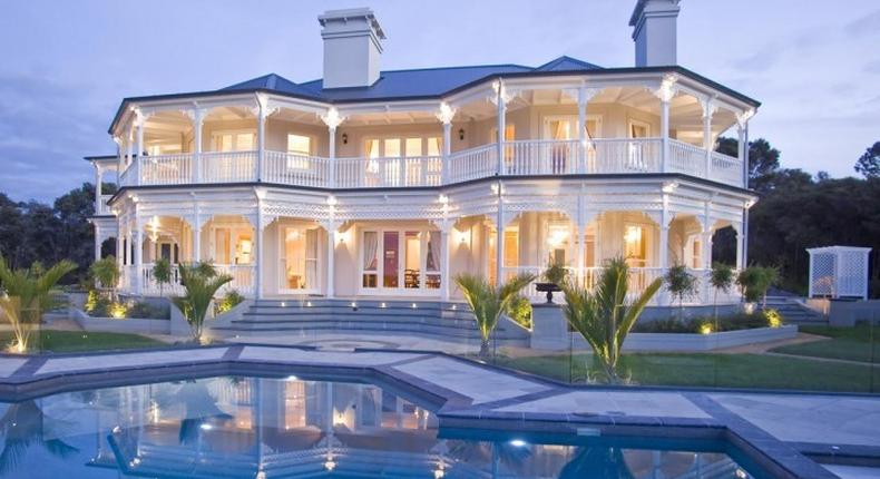 Blue Roof Mansion. (Harare24news)