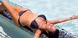 Matka Kim Kardashian w bikini