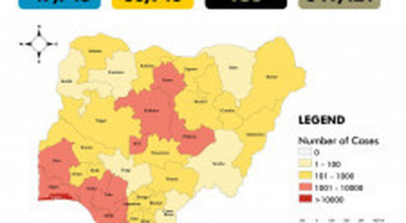 Coronavirus - Nigeria: The COVID-19 Nigeria situation report for 12th August, 2020