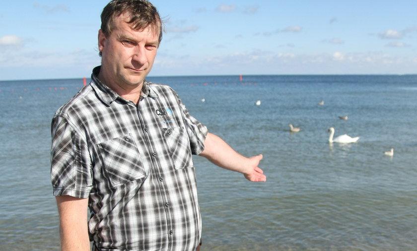 olskie plaże nie są bezpieczne