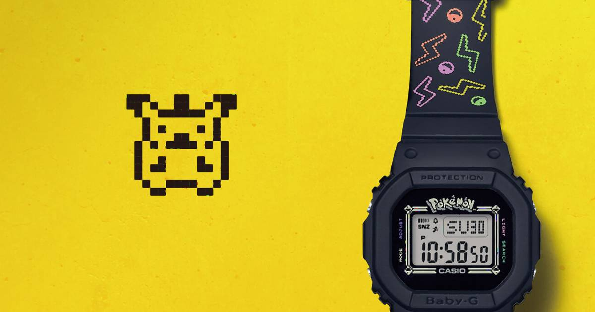 Diese Pokémon-Uhr ist der Traum eines jeden Pikachu-Fans