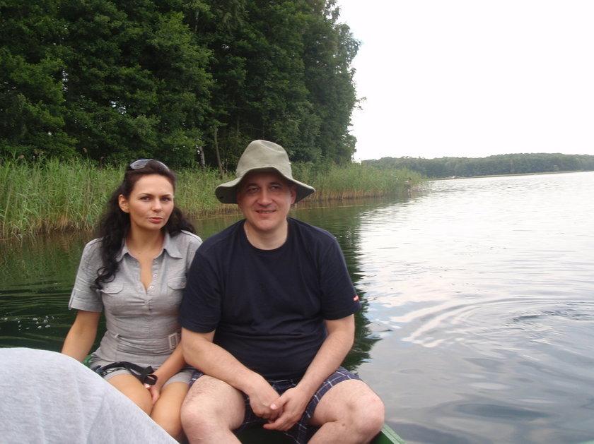 Joachim Brudziński na wakacjach