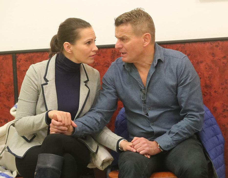 Rékasi Károly párja, Pikali Gerda azonnal sejtette, hogy nagy a baj, a vizsgálatok szerint a színész súlyos, kétoldali tüdőgyulladással küzd /Fotó: RAS-archívum