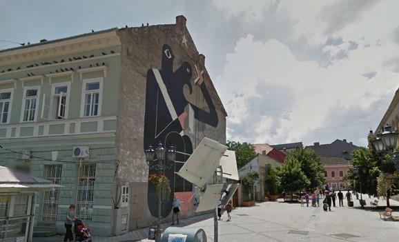 Prekrečeni mural