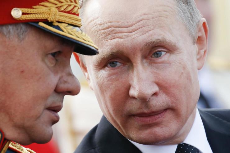 Putin i Sergej Šojgu