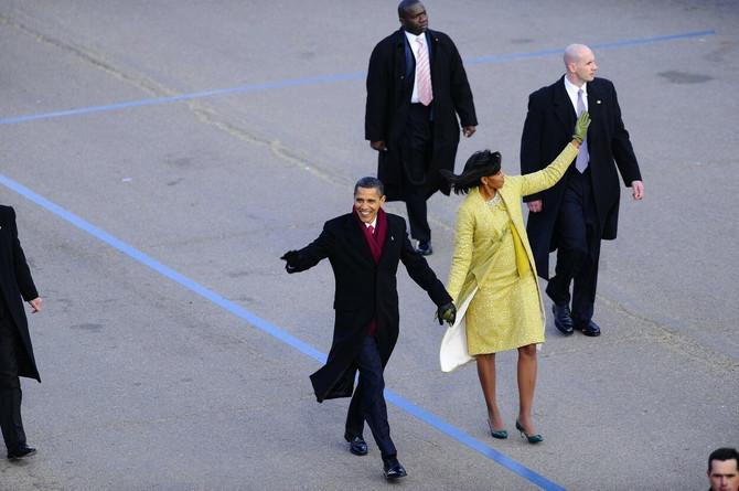 Mišel Obama na inauguraciji 2009. godine