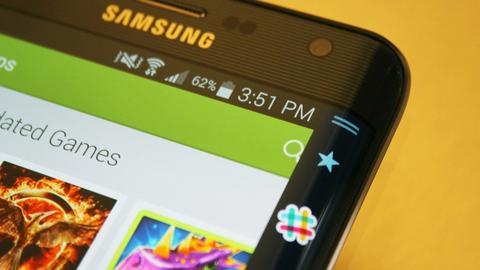 Samsung wykorzystał zakrzywiony ekran m.in. w Galaxy S8