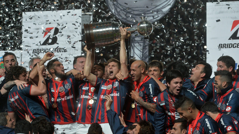 Radość piłkarzy San Lorenzo