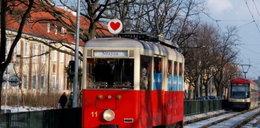 Ale heca! Walentynki w tramwaju