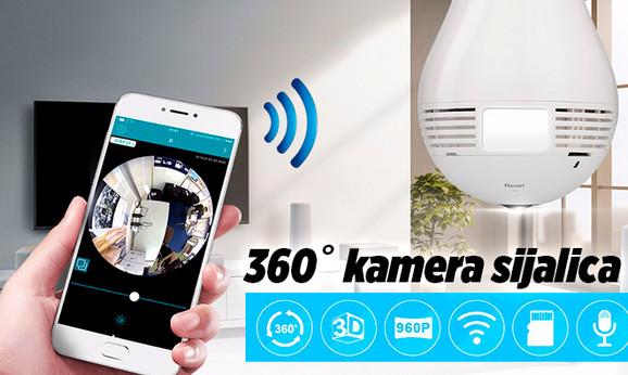 HD kamera u sijalici