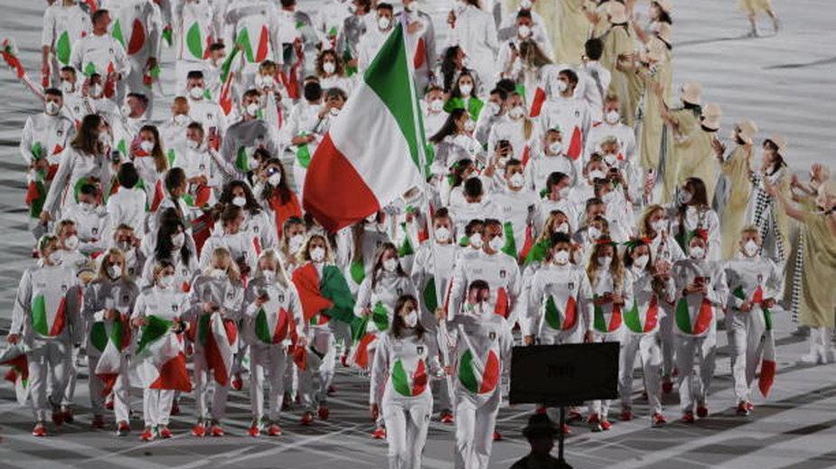 Tokio 2020, ceremonia (Włochy)