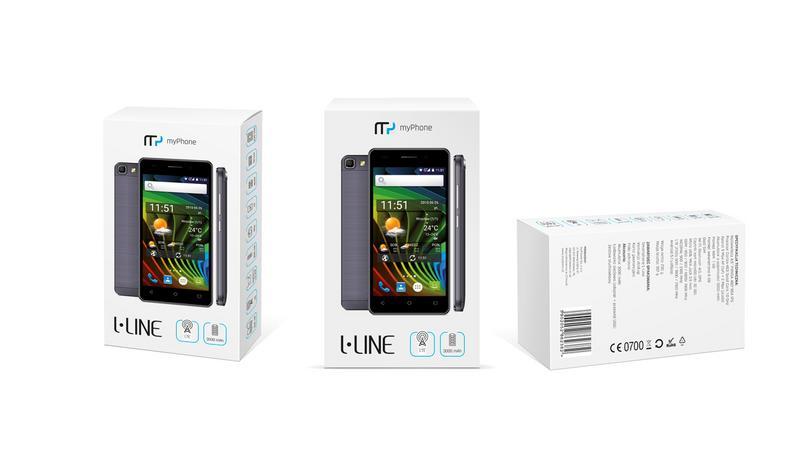 MyPhone L-line - tani smartfon LTE w sklepach Biedronka