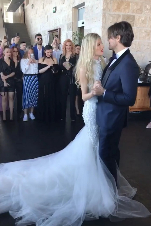 Nevena Božović sa suprugom