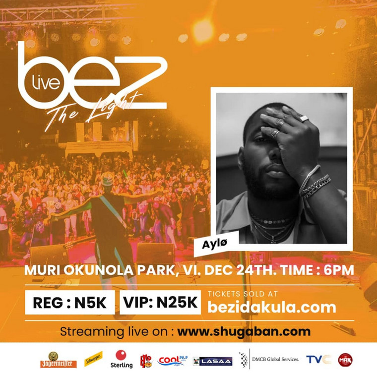 Bez set to thrill fans on Christmas eve at #BezLive2019