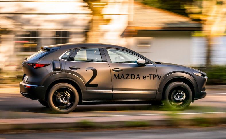 Mazda - samochód elektryczny