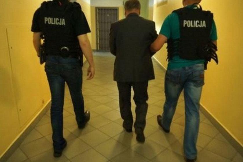 Ryszrad M. (68l.) prezydent Zawiercia zatzrymany za korupcję