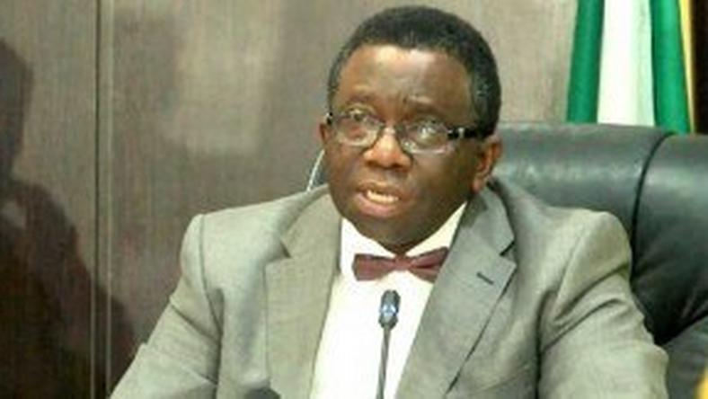Minister of Health, Professor Isaac Adewole.