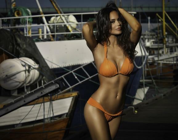 U Norveškoj je radila reklamu za kupaće kostime