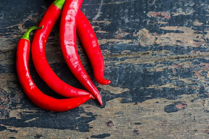 Kapsaicin iz čili papričica ubrzava metabolizam