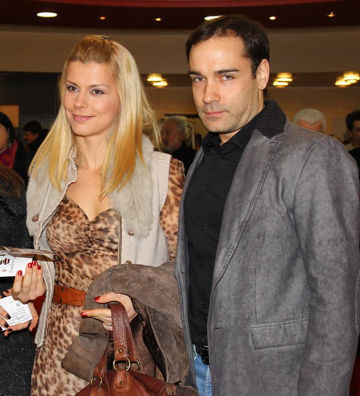 Srđan Timarov sa Natašom Miljković foto P Markovic