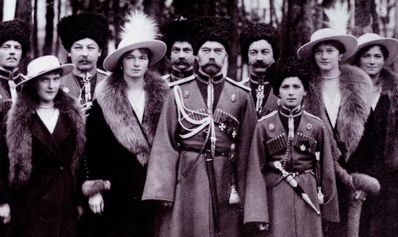 Romanovi tokom Prvog svetskog rata