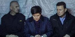 Beata Szydło w miejscu katastrofy: będą renty dla dzieci ofiar!