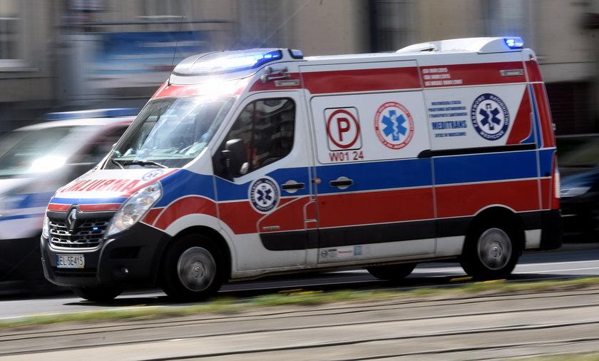 Pijana 13-latka trafiła do szpitala.