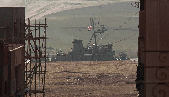 Iranski ratni brod u Sueckom kanalu