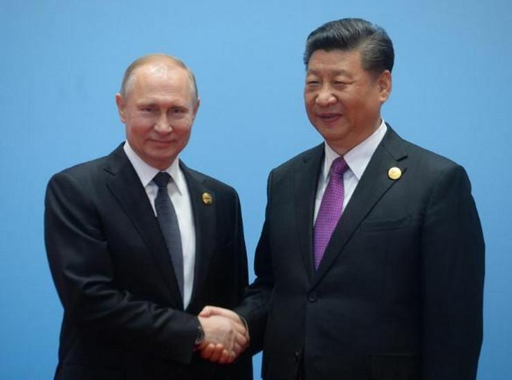 Vladimir Putin i Si Đinping ap