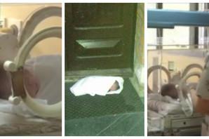 Bebu ostavljenu ispred crkve u Čajetini život I DALJE NE MAZI