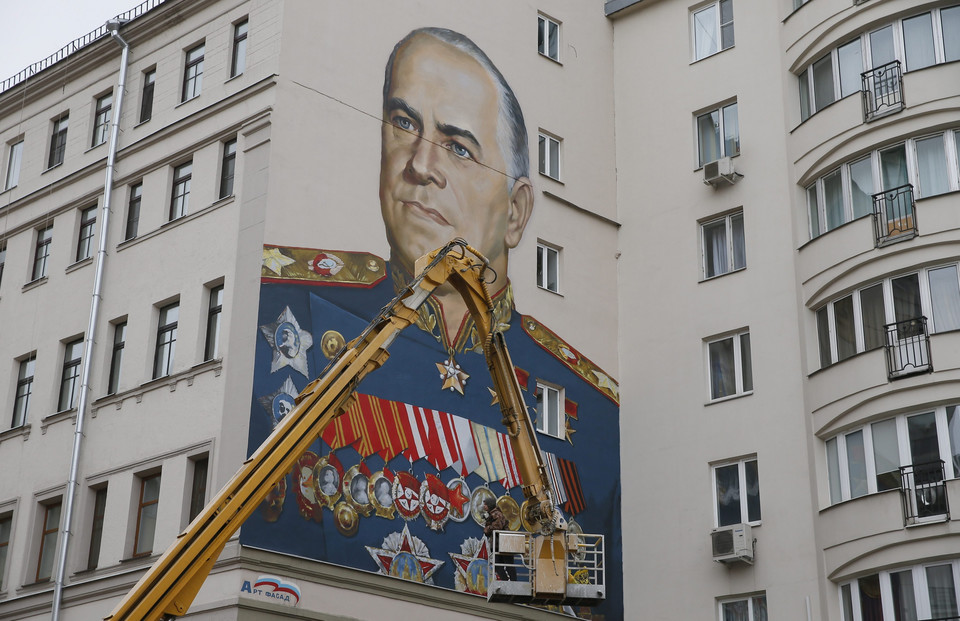 RUSSIA VICTORY DAY PREPARATIONS (Preparations for the 70th anniversary of the victory over Nazi Germany)