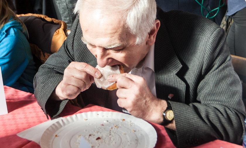Afera na konkursie jedzenia pączków