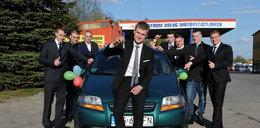 Nauczyciele kupili uczniowi z Gryfic auto