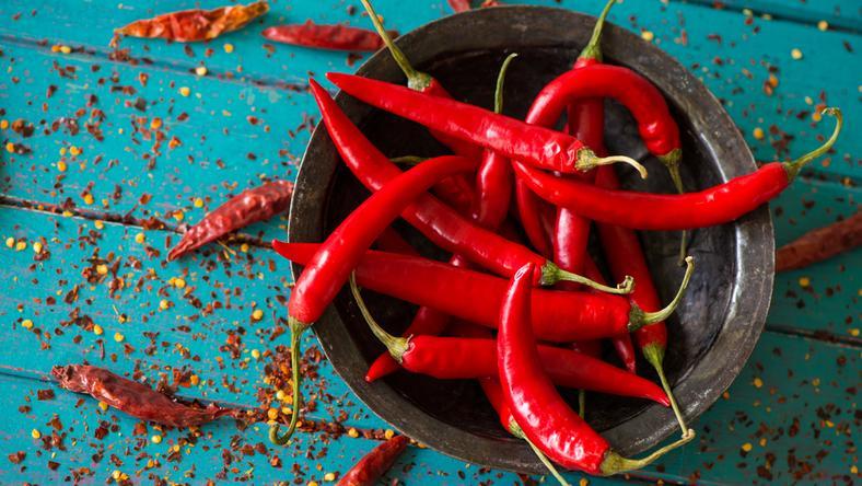Lecznicze właściwości papryczki chilli