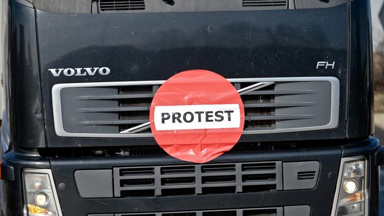 Protest przewoźników