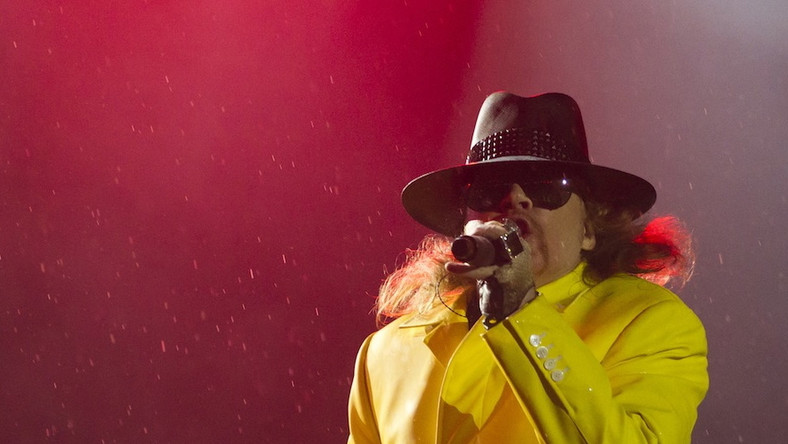 Axl Rose i Guns N'Roses na Rock in Rio