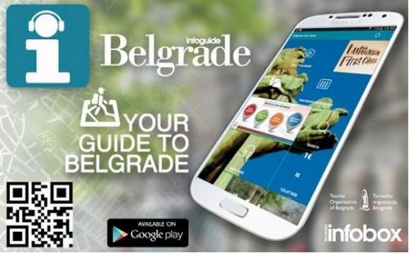 Aplikacija Belgrade Info Guide