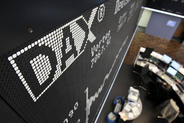 DAX szedł w górę o 0,8 proc.