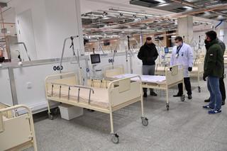Zaczyński: W weekend szpital na Stadionie Narodowym osiągnie gotowość operacyjną