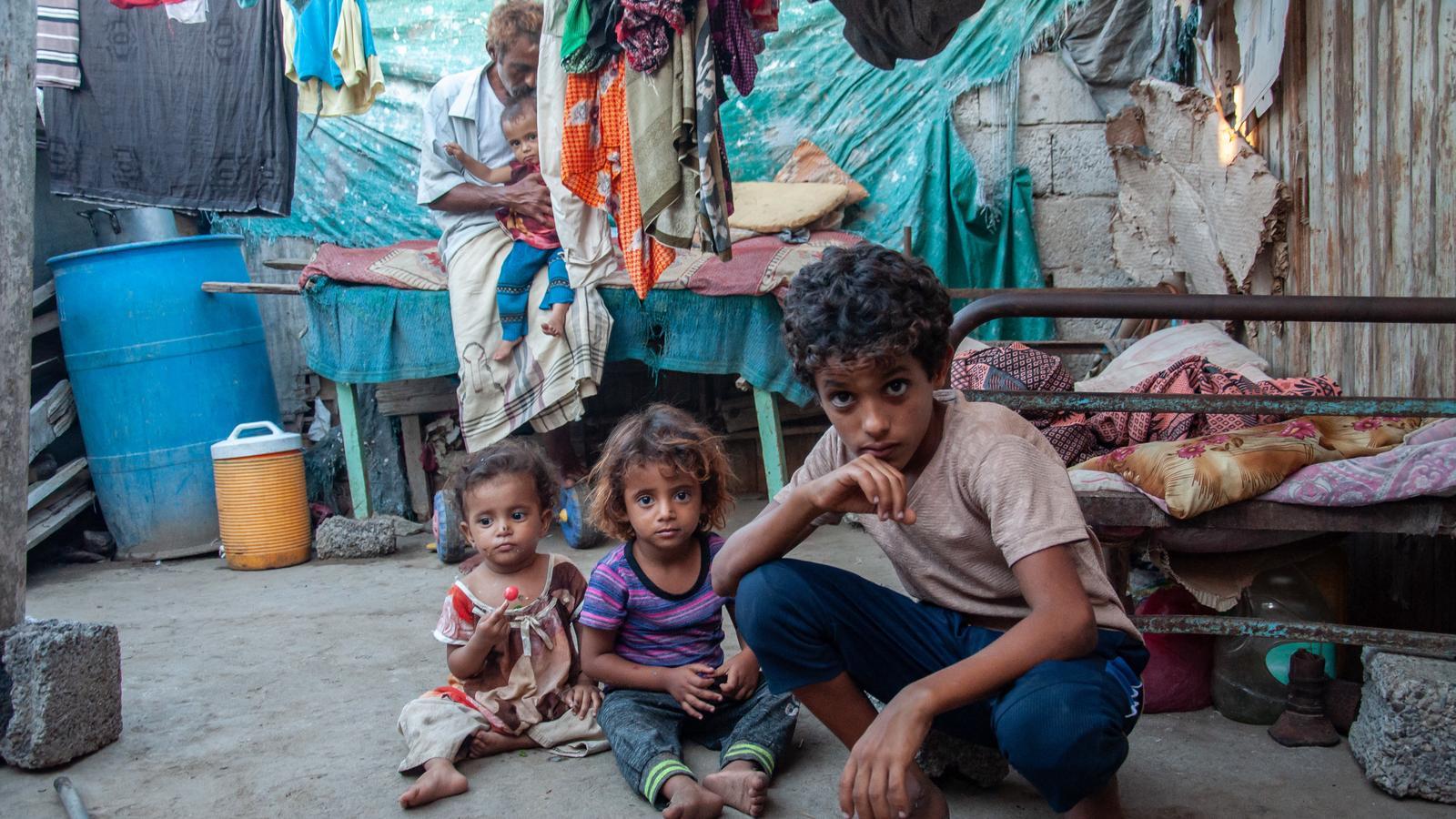 Jemen. Tuż za linią frontu