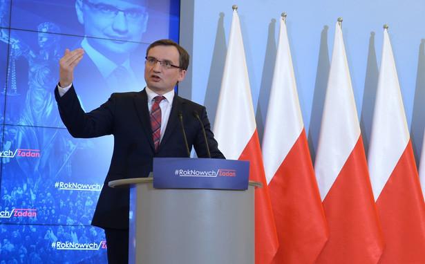 Projekt zmian przedstawił minister sprawiedliwości Zbigniew Ziobro