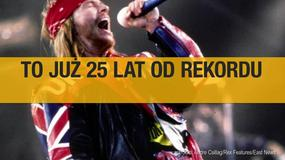 Mija 25 lat od rekordu Guns N' Roses