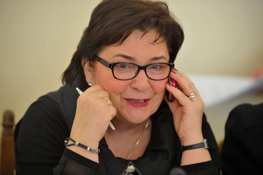 Teresa Piotrowska, kandydatka na szefową MSW i posłanka PO